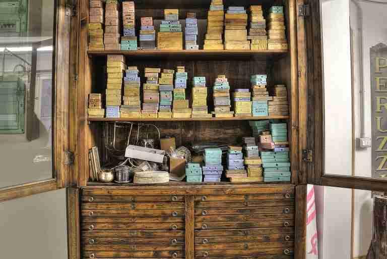 i negozi del ponte vecchio